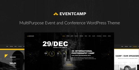 EventCamp - Multi-Purpose Conference WordPress Theme - Events Entertainment