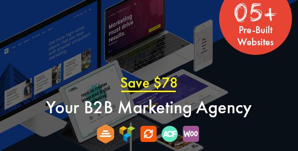 Royal - Marketing, Landing WordPress Theme - Marketing Corporate