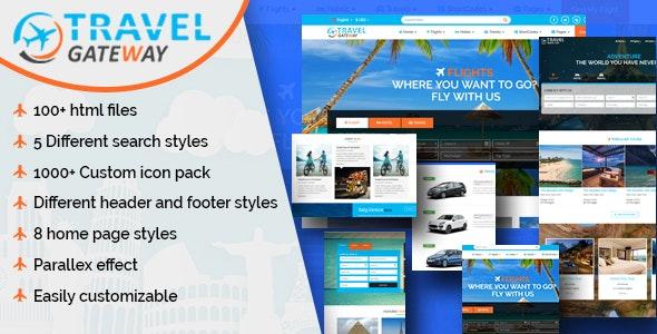 Travel Gateway - Creative Agency HTML5 Template - Travel Retail