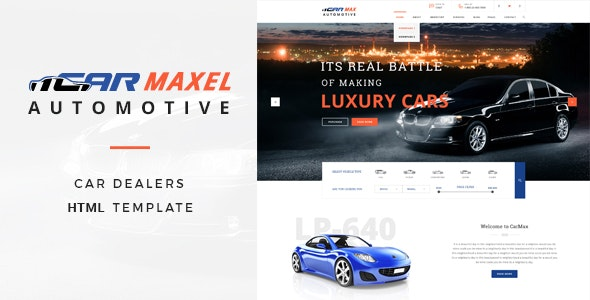 Car Max - Automotive HTML Template - Business Corporate