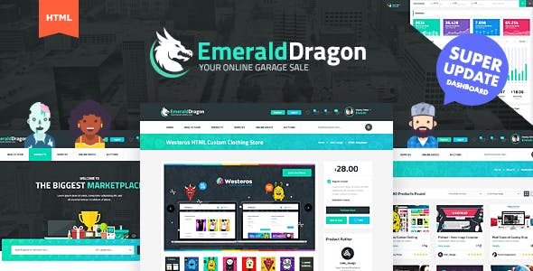Online Auction Website Templates From Themeforest