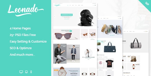 Leonado - Multi-Concepts WooCommerce WordPress Theme - WooCommerce eCommerce