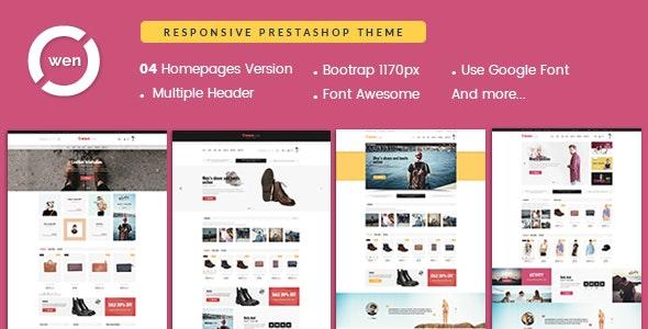 Pts OwenStore - Best Prestashop Theme 1.7 for Fashion Store & Brand - Fashion PrestaShop
