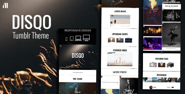 DISQO - Portfolio & Blogging Tumblr Theme - Portfolio Tumblr