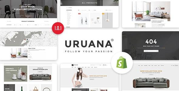 Uruana - Multi Store Responsive Shopify Theme - Shopify eCommerce
