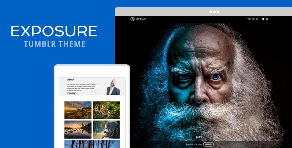 Exposure Tumblr Theme - Portfolio Tumblr