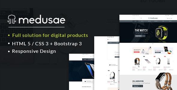 Medusae - Professional Responsive eCommerce HTML based on Bootstrap 3 - Shopping Retail
