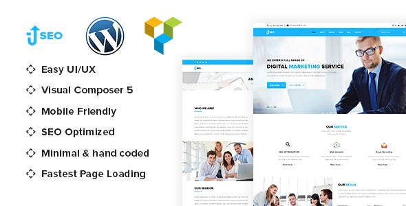 SEO - Marketing & SEO WordPress theme - Marketing Corporate