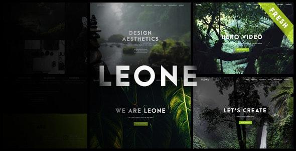 Leone - One Page Multi Purpose WordPress Theme - Creative WordPress