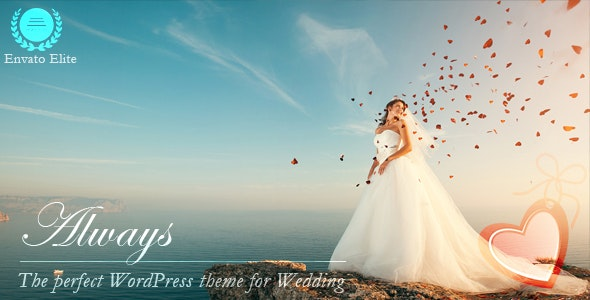 Always - Responsive WordPress Wedding Theme - Wedding WordPress
