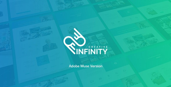 Infinity | Multipurpose Muse One Page Template - Muse Templates