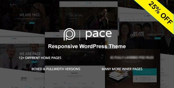 Pace - Responsive MultiPurpose Theme