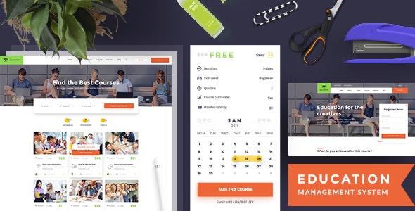 Education – Education PSD Template - Corporate Photoshop