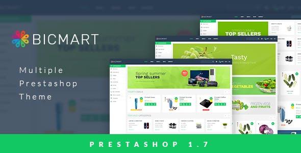 Leo Bicmart Prestashop Theme 1.7 for Supermarket & Digital