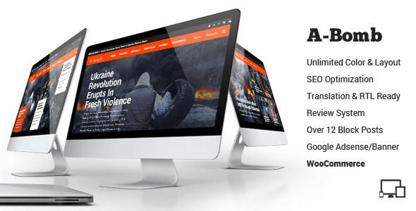 A-Bomb | News & Blog & Magazine Theme - Blog / Magazine WordPress