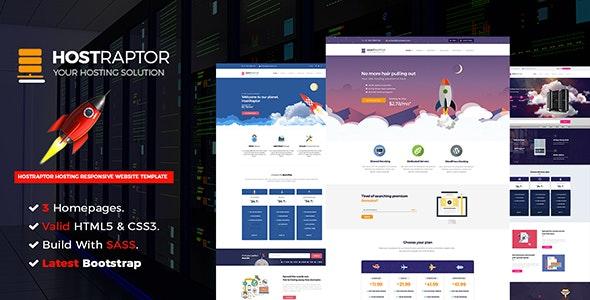 Host Raptor - Hosting Domain - Technology Site Templates