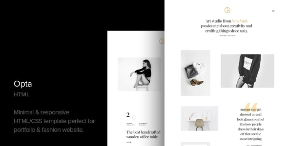 Opta - Minimal Portfolio and Photography HTML Template - Photography Creative