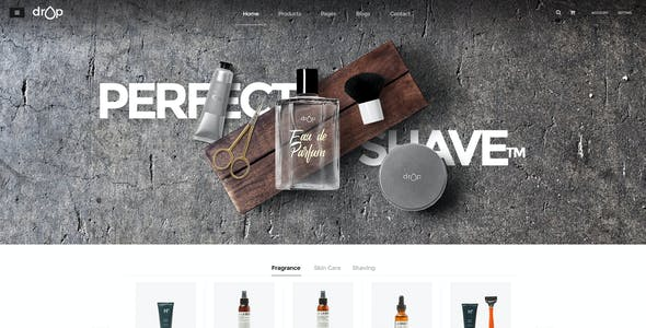 Drop - Cosmetics Shop WooCommerce WordPress Theme