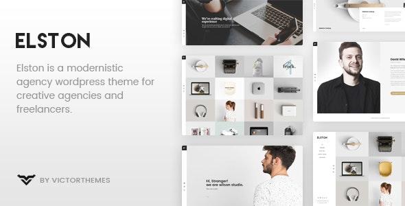 Elston - Portfolio for Freelancers & Agencies - Portfolio Creative