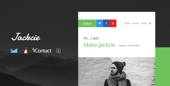Jackcie Mail - Responsive E-mail Template + Online Access - Email Templates Marketing