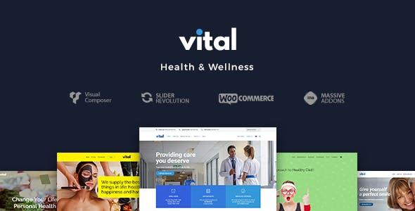 Vital | Health, Medical and Wellness WordPress Theme