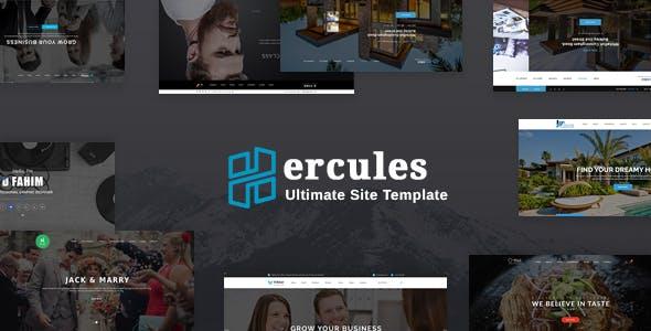 Hercules - Ultimate Site Template