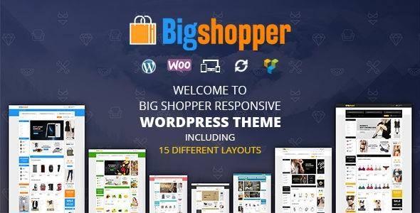 BigShopper - Multipurpose WooCommerce Theme - WooCommerce eCommerce
