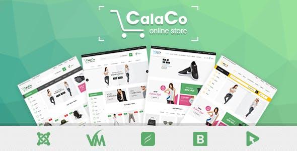 Vina Calaco - Clothing and Fashion VirtueMart Template