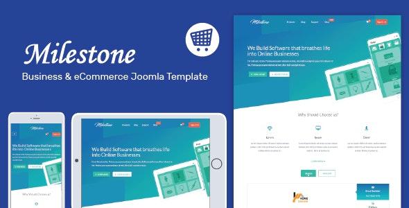 Milestone - Responsive Multi-purpose Joomla Template - Corporate Joomla