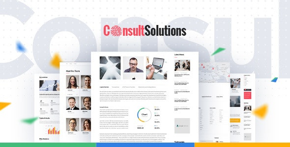 Consult Solution - Business & Finance WordPress Theme - Corporate WordPress