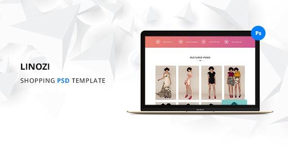 Linozi Online Shopping Template - Shopping Retail