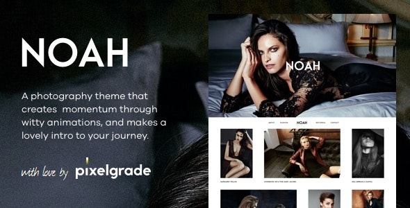 NOAH - A Witty Photography WordPress Theme - Photography Creative