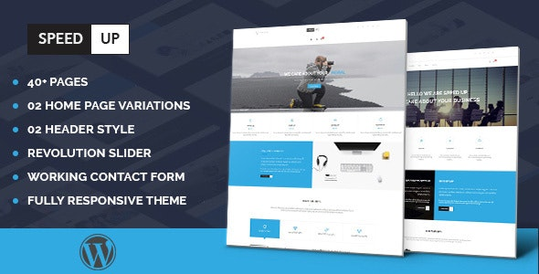 Speedup - Multipurpose Business Portfolio Responsive WordPress Theme - Portfolio Creative