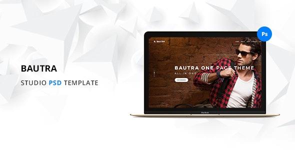 Bautra Multipurpose PSD Template - Creative PSD Templates