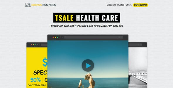 Affiliate Sales Page HTML Template