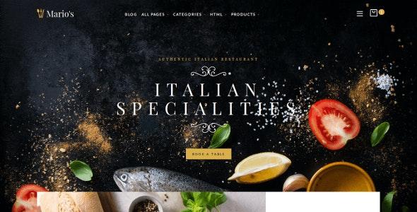 Restaurant Opencart Theme - OpenCart eCommerce