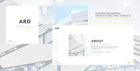 ARD - Architect HTML Template - Creative Site Templates