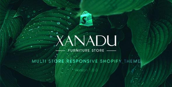 Xanadu - Multi Store Responsive Shopify Theme - Shopify eCommerce