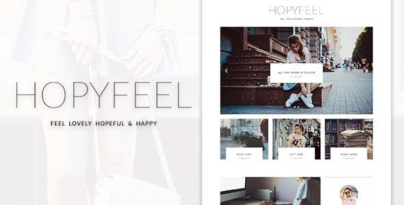 Hopyfeel - Personal Blog HTML Template