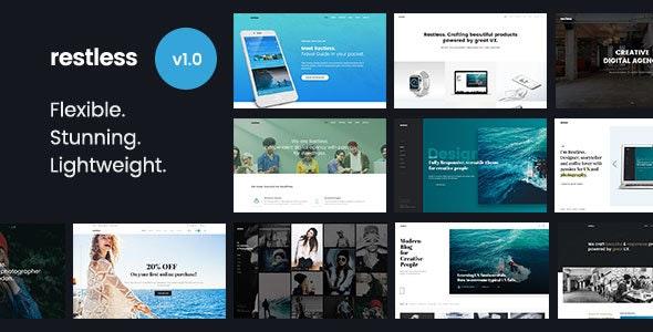 Restless - Stunning & Flexible Multi-purpose HTML Template - Portfolio Creative