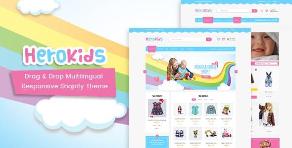 Herokids - Drag & Drop Multilingual Children Kids Shopify Theme - Miscellaneous Shopify