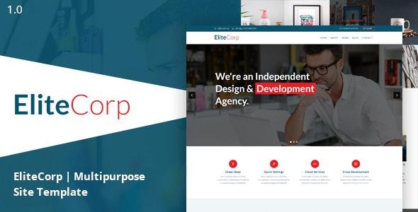 EliteCorp Multipurpose HTML5 Template - Business Corporate