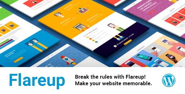 Flareup - Multipurpose Flat Responsive Wordpress Theme - Software Technology