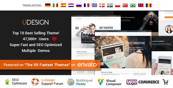 uDesign - Responsive WordPress Theme - Business Corporate