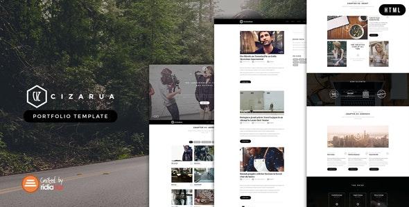 Cizarua - Responsive One Page Portfolio HTML Template - Portfolio Creative
