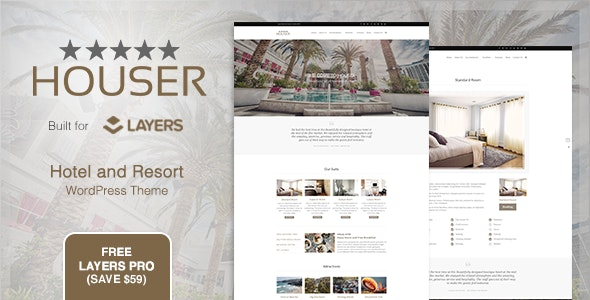 Houser | Hotel and Resort Layers WordPress Theme - Travel Retail
