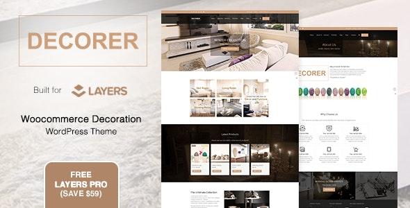 Decorer | Woocommerce Layers WordPress Theme - Shopping Retail