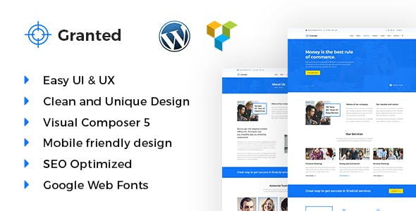 Granted - Business & Consultancy WordPress theme