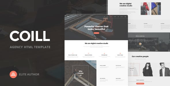 Coill   Business & Agency HTML5 Template