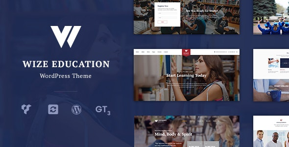 WizeEdu - Education LMS Courses and Events - Education WordPress